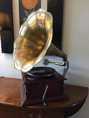 His Masters Voice HMV Gramophone - Reproduction