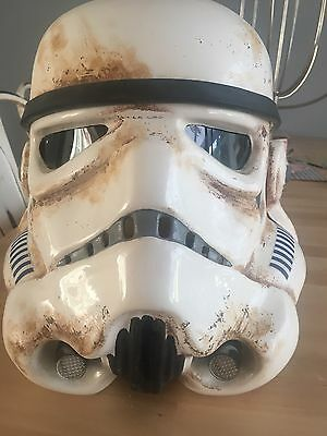 STAR WARS STORMTROOPER HELMET FULL SIZE PROP 1:1 SAND TROOPER  Stunning Finish