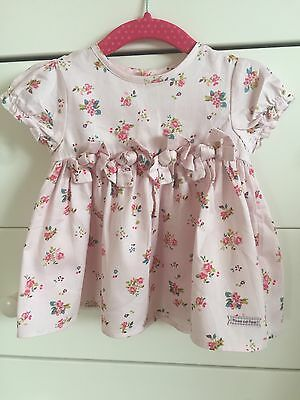 Mamas And Papas Baby Girl Dress 6-9 Months