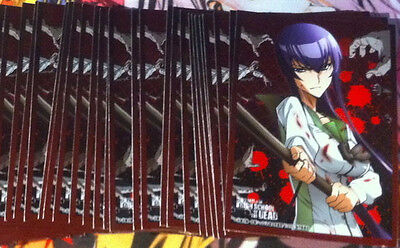 High School of the Dead - Sleeves Pochettes Protection Anime Manga Cards Rare