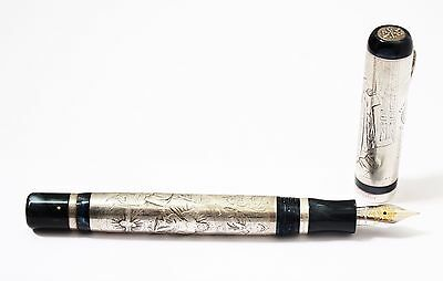 Montegrappa Vatican 2000 Papal Pen Silver Limited Edition Fountain Pen