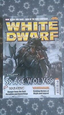 White Dwarf WD358 Magazine Games Workshop Space Wolves War of the Ring
