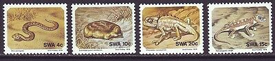 South West Africa 1978 SC 411-414 MNH Set Reptile