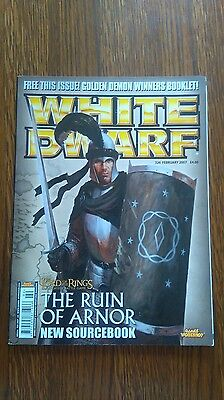 White Dwarf WD326 Magazine Games Workshop Lord of the Rings The Ruin of Arnor