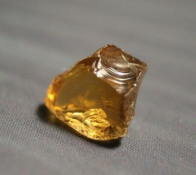 3.9ct Rare Canary Yellow Tourmaline - Flawless Facet Gem Rough