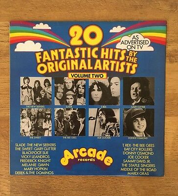20 Fantastic Hits By The Original Artists Volume 2 Vinyl Compilation Joe Cocker