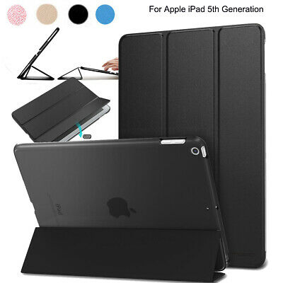 "iPad 9.7""/Pro 10.5/12.9"" 2017 Slim Kickstand Leather Smart Case Shockproof Cover"