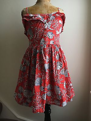 1950s style Summer Dress Size 10-12