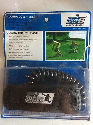 MBS Mountain Board Leash Cobra Coil