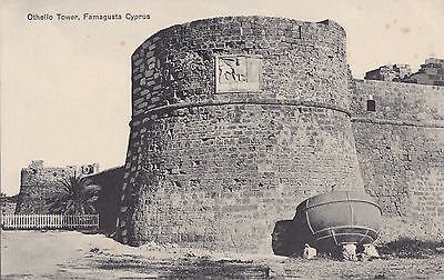 Cyprus Postcard Famagusta Othello Tower By Jp Foscolo Early