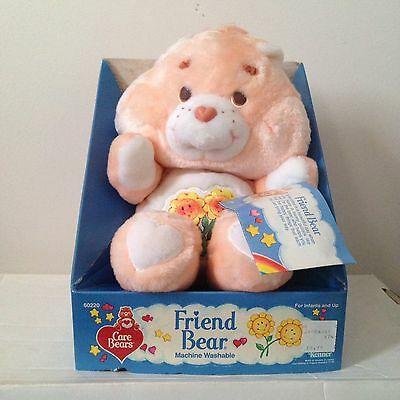 "Vintage Care Bear - ""Friend Bear"" - NOS Still On Box - Childhood Nostalgia"