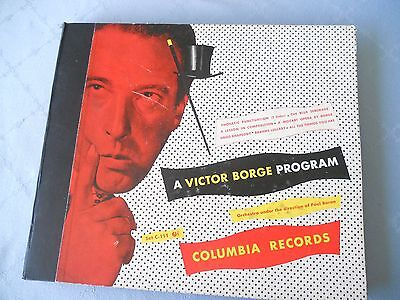 """""""A Victor Borge Program"""" Columbia Record Set C-111 Orchestra by Paul Baron"""