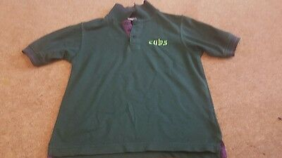 Cubs polo t shirt size 28