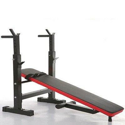 Heavy Duty Folding Weight Bench Flat/Incline/Decline - Delivery Possible