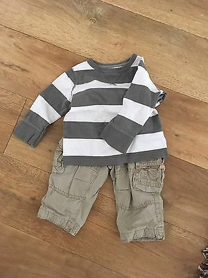 Baby Gap Top And Trousers 12-18 Months