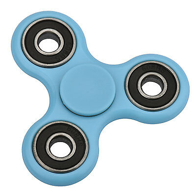 AU ABS Fidget Spinner Hand Toy Stress Relief EDC Finger Focus For Kids Adult