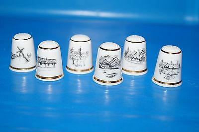 The Thimble Guild - British Scenery - Set