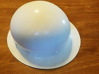 Vintage Hard Hat/iron Workers Hat/m.s.a. Skullgard