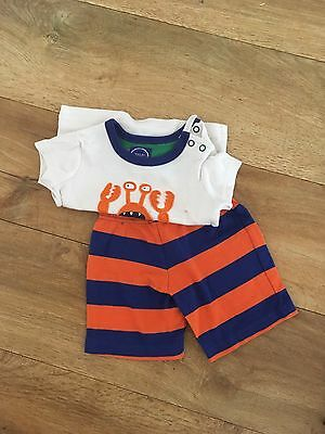 Joules Baby Boy Tshirt And Shorts 3-6 Months