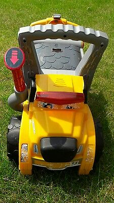 little tikes digger dog ride on
