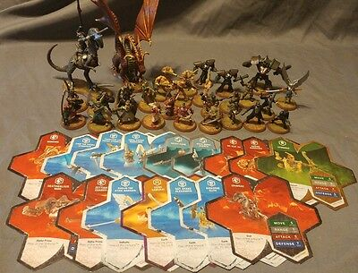 Heroscape Master Set Rise of the Valkyrie figure lot 29/30 (missing #9)