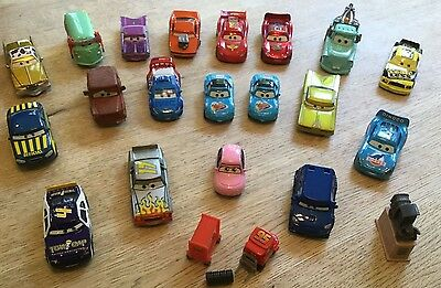 Metal Die Cast Disney Pixar 'Cars' Characters - Select to buy! - Priced from £1