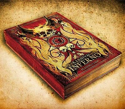 Bicycle Karnival Inferno Deck Playing Cards - Skull Fire Gothic Magic - LIMITED