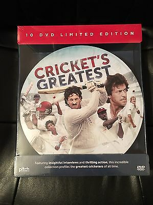 Crickets Greatest - 10 DVD Limited Edition