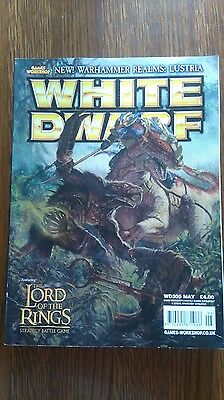 White Dwarf WD305 Magazine Games Workshop Lord of the Rings Lustria Jungle Fever
