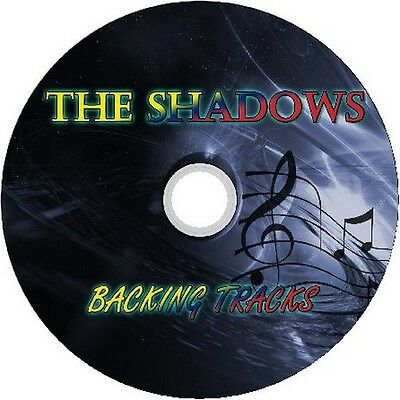 The Shadows Guitar Backing Tracks Greatest Hits Best Of Hank Marvin Jam Music