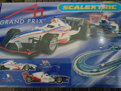 Scalextric A1 Grand Prix Boxed Set - AMAZING CONDITION COMPLETE BOXED C1183