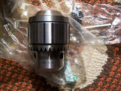 NEW LLAMBRICH USA CBB-13 J3 Drill Chuck, Keyed, Steel, 1/2 In, 3JT Must See N.R.