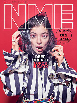 The NEW MUSICAL EXPRESS NME 16 JUNE 2017 LORDE Front Cover n.m.e The Beatles
