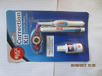 Writing Correction Kit Pen Fluid Mouse Office Eraser Work Tipex Tippex - 4 Set