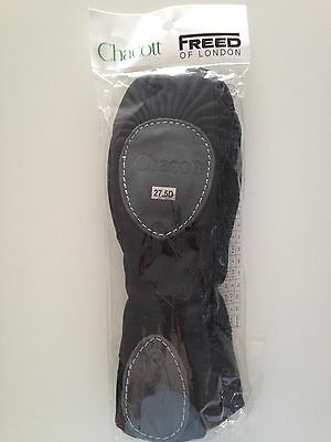 Men's Chacott ( by Freed) Black canvas Ballet shoes (size 27.5D)