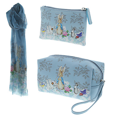 Beatrix Potter Scarf Purse and Wash Bag  A28292 A28733 A28285 RRP£31.95