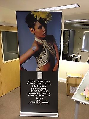 Expolinc Classic Commercial Roll Up Exhibition Banner Display 5 available + CASE