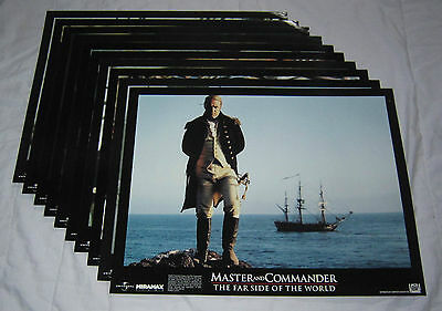Lot of RUSSELL CROWE 11 x 14 Lobby Card Sets