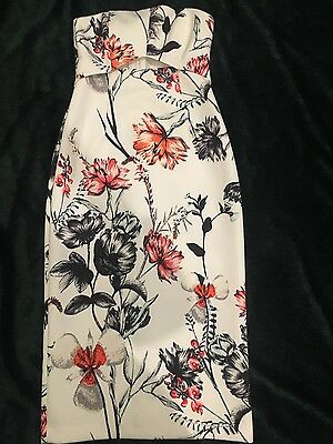 Staple the Label Size 8 - Strapless Floral Dress