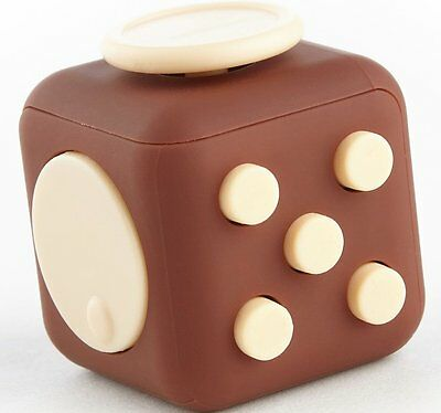 OpenBox Moral Illusion Joy Cube - Chocolate Fidget Cube For Stress And Anxiety R