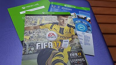Xbox One Fifa 17 FULL Game Download Code includes Legends - Posted Only