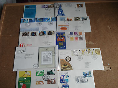 Collection of 10 GB Fdcs  ( a )