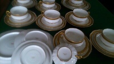 RARE Theodore Haviland Limoges France. 1903 Mark P. Set of 29 pieces