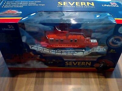 RNLI Severn Remote Control Lifeboat RC Model Boat 1:20 Boxed Unused