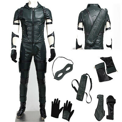 Costume Green Arrow Seson 4 Suit Cosplay, 2S-3Xl- Winter Soldier,mask,replica