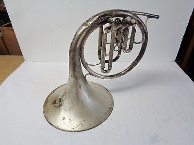 Indian Wars Fort McDowell, AZ Officer's Regimental Band french horn