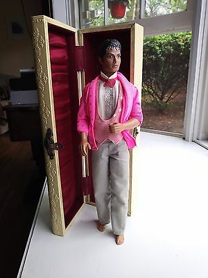 Vintage 1984 Mjj Productions Michael Jackson Doll Jointed Barbie Style Doll Rare