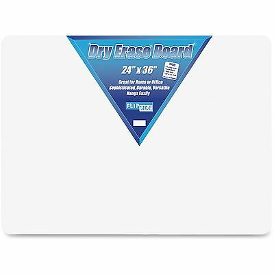 """Flipside Products Dry Erase Board 24""""x36"""" White 10088"""