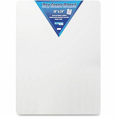 """Flipside Products Dry Erase Board 18""""x24"""" White 10085"""