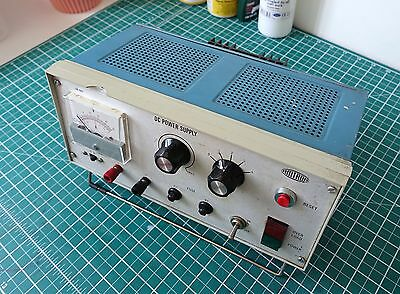 Vintage AMTRON DC Bench Power Supply Fully Working 0-3 AMP - 0 - 50 Volt